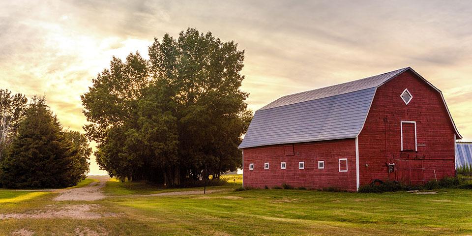 farmers insured barn